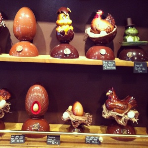Lanicol chocolate sculptures