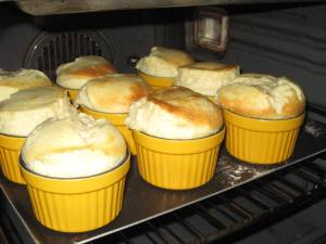 souffles in oven