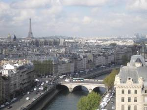 View from Notre Dame Tower