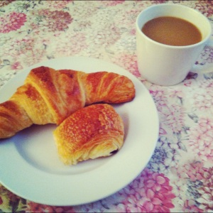 morning croissants